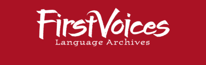 First Voices Language Archive